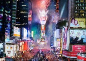 New Year's Eve, Times Square