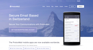 ProtonMail is free encrypted email.