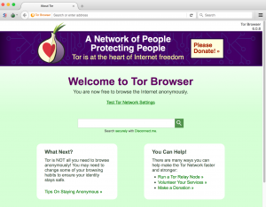 The Tor Browser protects against surveillance.