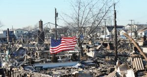 Hurricane Sandy aftermath, 2012.