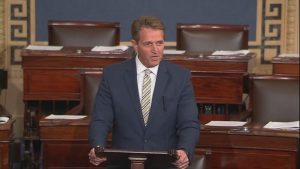 Senator Jeff Flake. Photo: U.S. Senate.