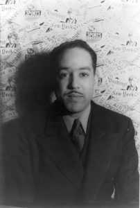 Langston Hughes, photographed by Carl Van Vechten. Source: Wikipedia.