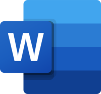 Is Word alone enough? For some writers, yes. For many others, no. Word logo © Microsoft.