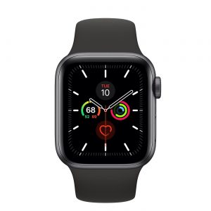 The amazing Apple Watch Series 5. Too good to leave at home.