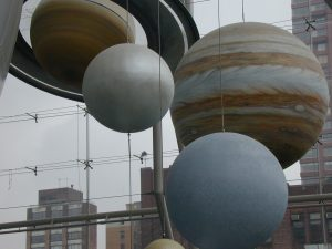 Extraordinary worlds. Rose Center for Earth and Space, Hayden Planetarium.